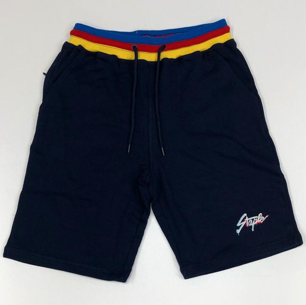 Staple- abstract logo shorts