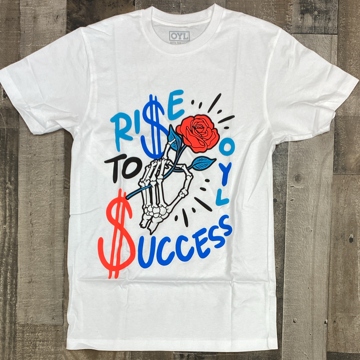 OYL- rise to success ss tee