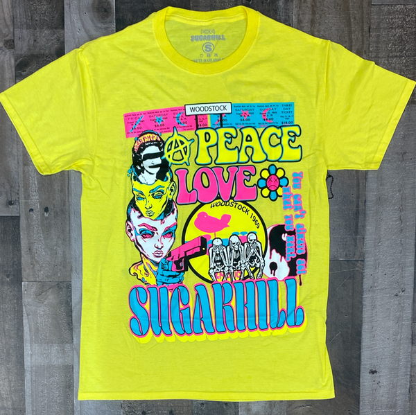 Sugarhill- hippie ss tee (yellow)