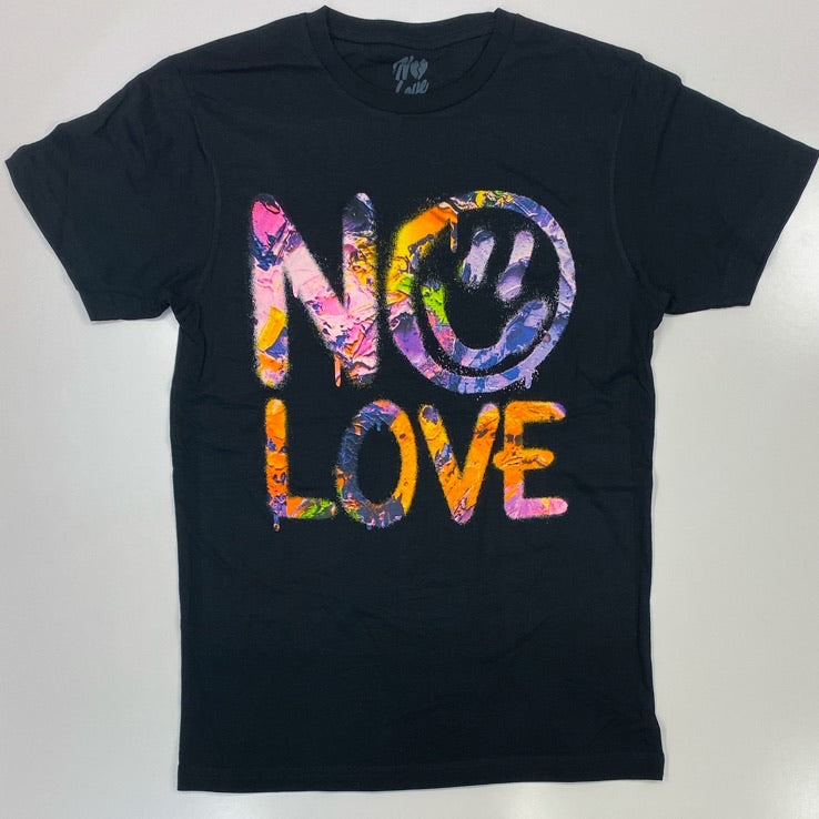 No love- paint ss tee