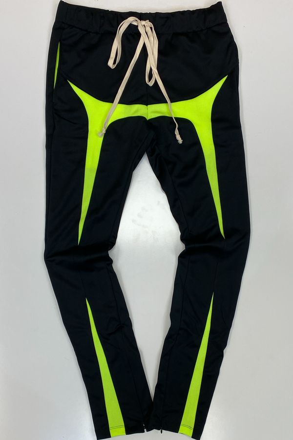 Eptm- joker track pants(black/green)