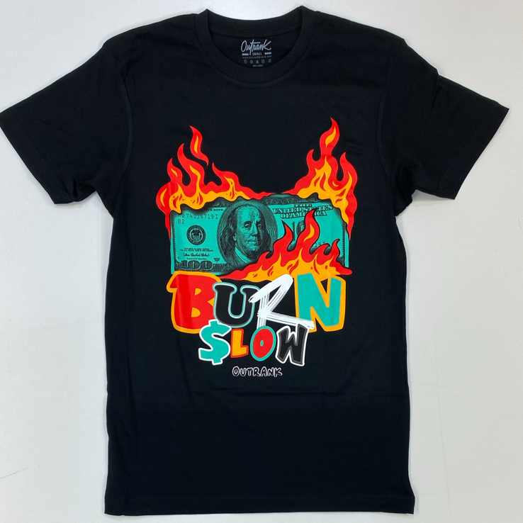Outrank- burn slow ss tee