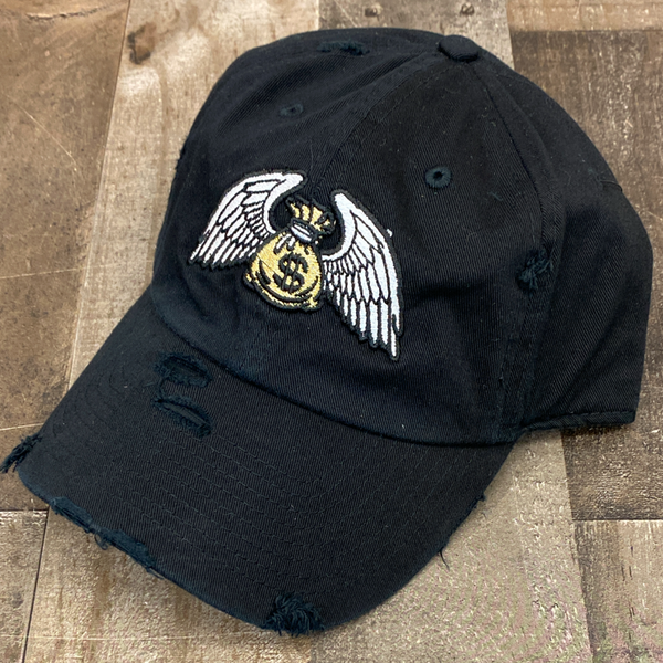 Outrank- money flies dad hat