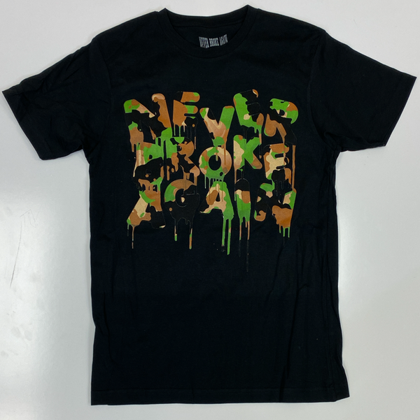 Never broke again- drip camo ss tee