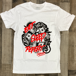 Outrank- eat sleep repeat ss tee