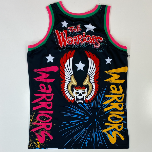 Headgear Classics- the warriors Coney Island jersey