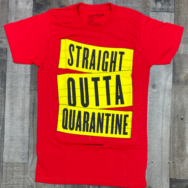 Reason- outta ss tee (red)