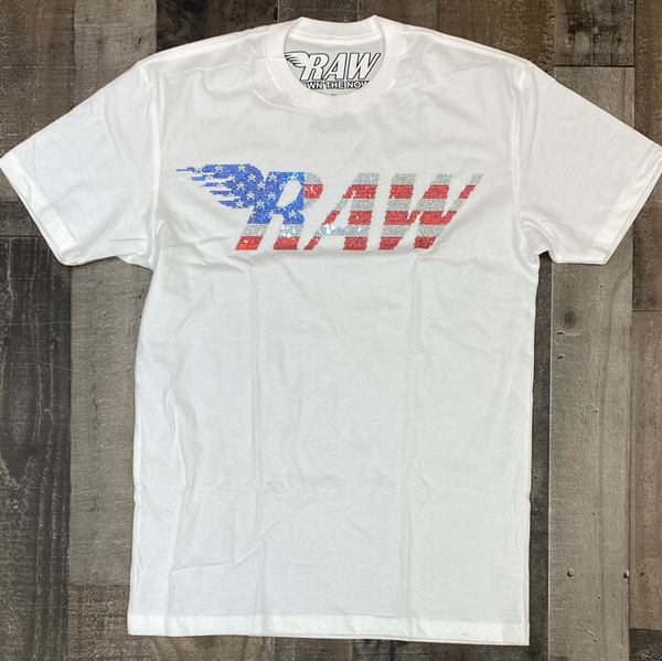 Rawyalty- studded raw ss tee (USA)