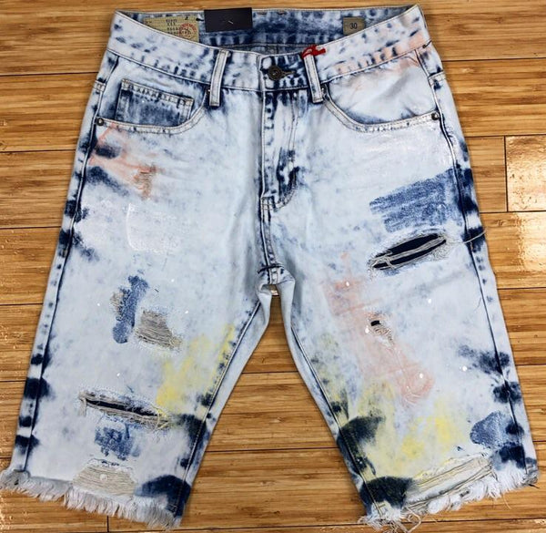 Smoke rise- denim shorts
