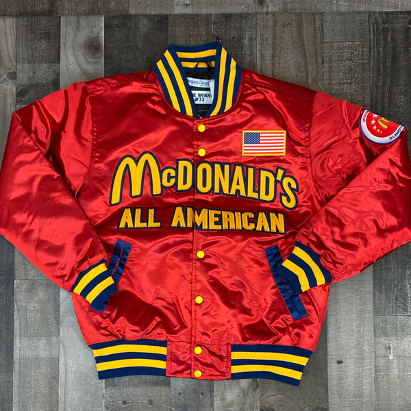 Headgear Classics- McDonald's All American Kobe Bryant satin jacket
