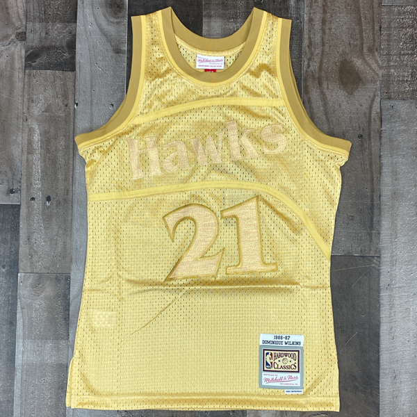 Mitchell & Ness- nba swingman jersey Hawks 86 Dominique Wilkins