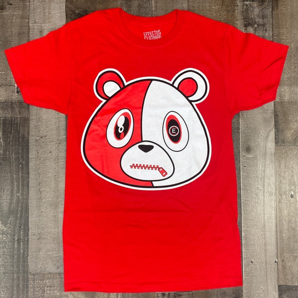 Effectus Clothing- e bear ss tee (red)