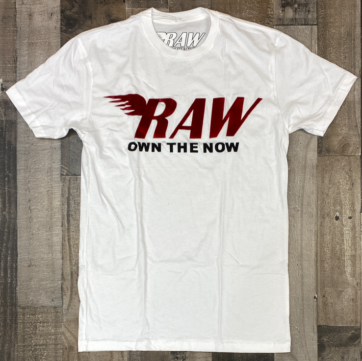 Rawyalty-raw patch ss tee