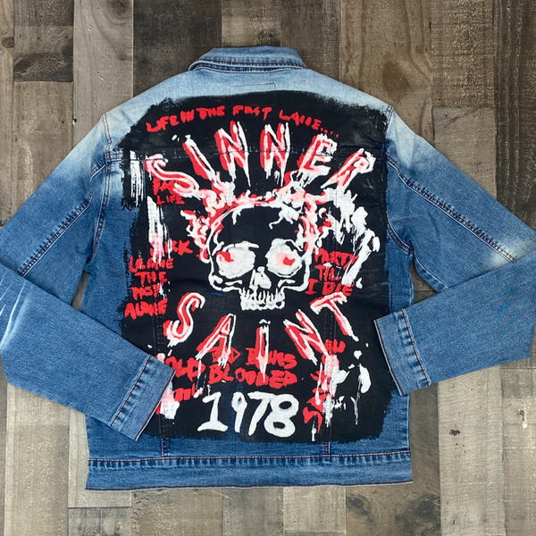 Mackeen- Orin denim jacket