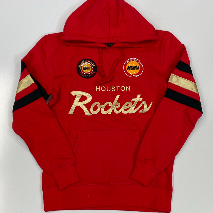Mitchell & Ness- houston rockets champion pullover hoodie
