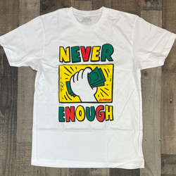 Outrank- never enough ss tee