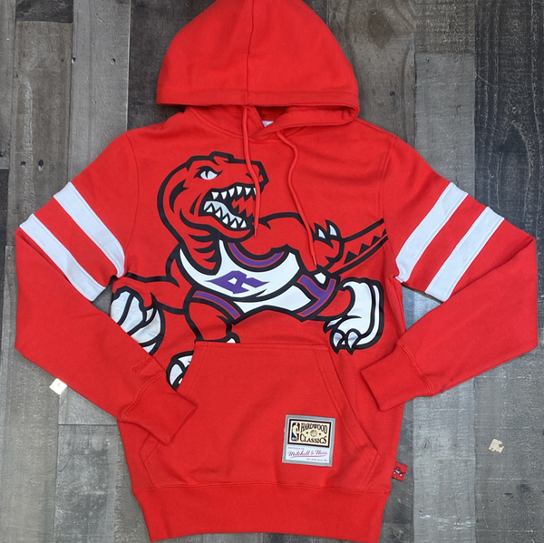 Mitchell & Ness- nba substantial fleece hoodie Toronto Raptors