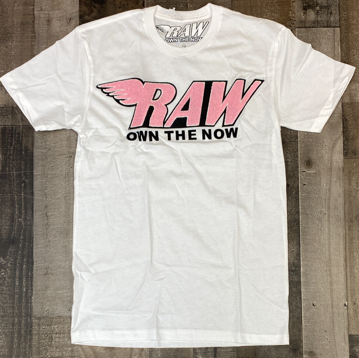 Rawyalty-raw (own the now) chenille patch ss tee
