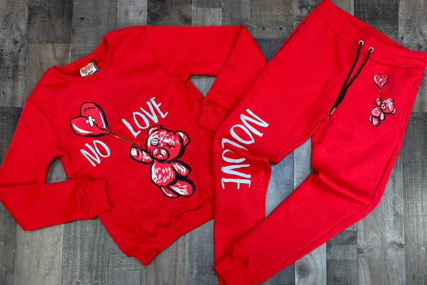 Retro Label- 4s OG no love sweatsuit
