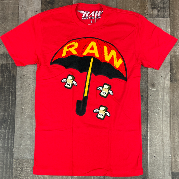 Rawyalty- raw make it fly ss tee (red)