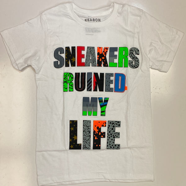 Reason- sneakers ruined my life ss tee