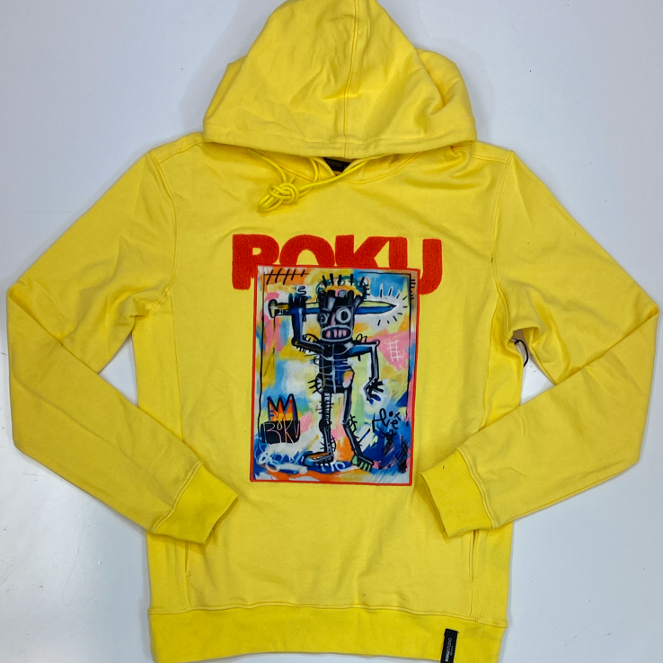 Roku Studio- sword man pop art hoodie