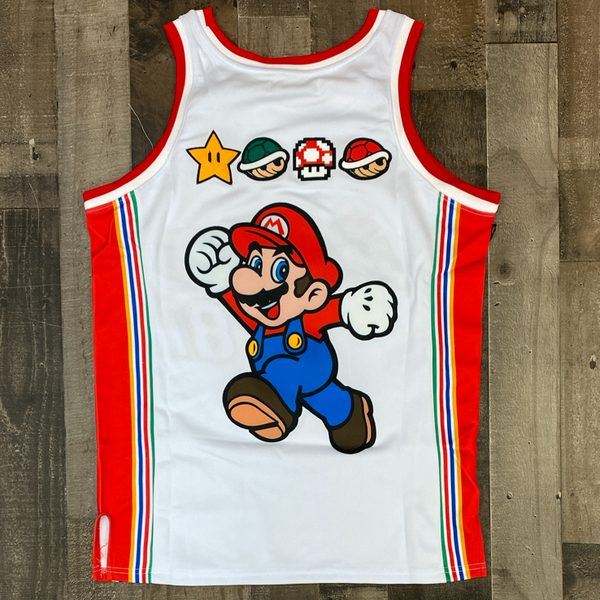 Headgear Classics- super Mario basketball jersey