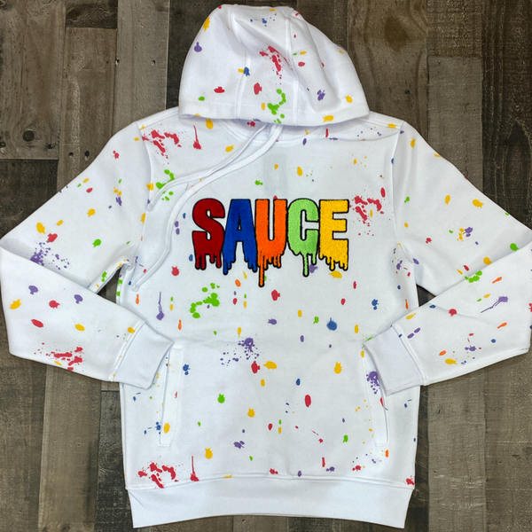 Rebel minds- painted savage hoodie