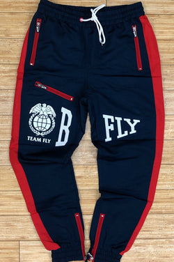 Born fly- mellon nylon pants