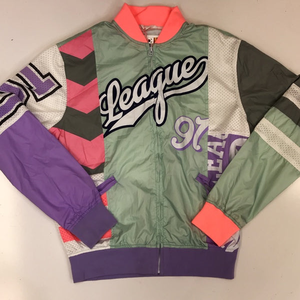 Smoke rise- league 91 nylon jacket