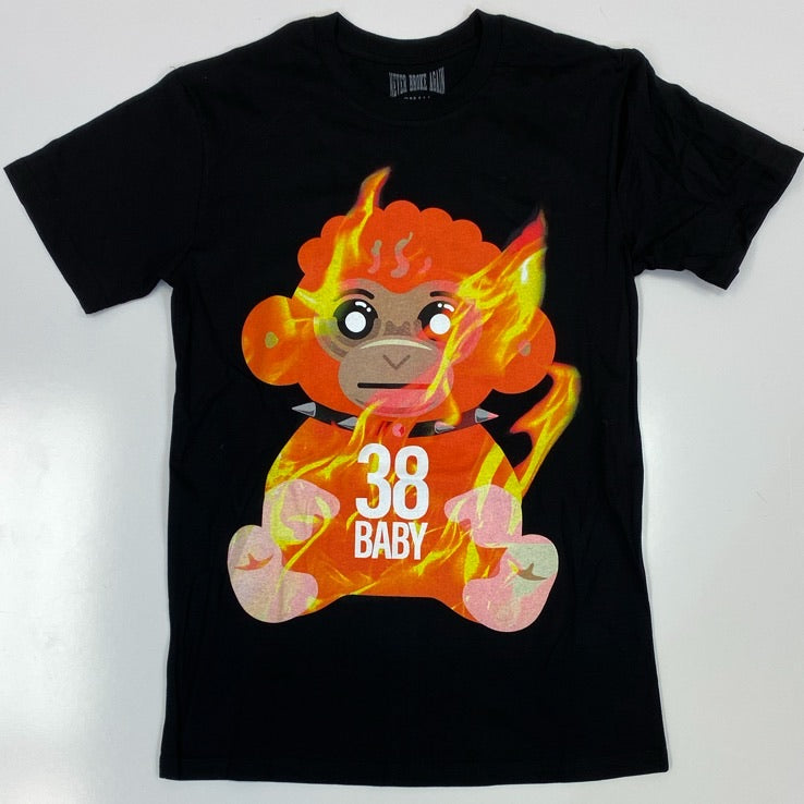 Never broke again- 38 baby flames ss tee