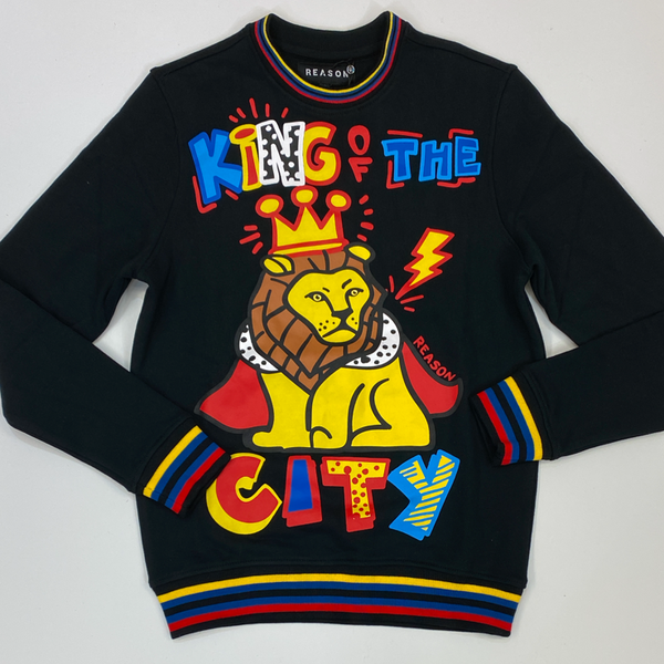 Reason- king of the city crewneck
