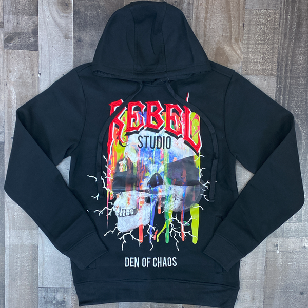 Rebel minds- rebel studio hoodie