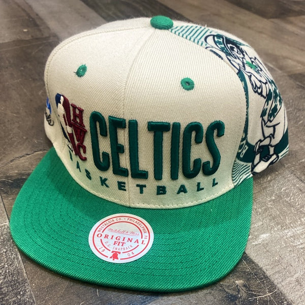 Mitchell & Ness- Hardwood Classic Boston Celtics SnapBack