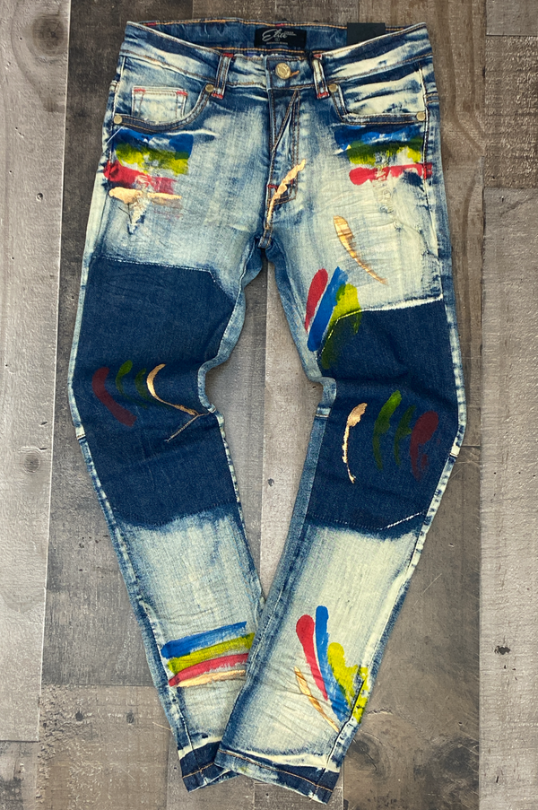 Elite- denim jeans (lagoon) (kids)