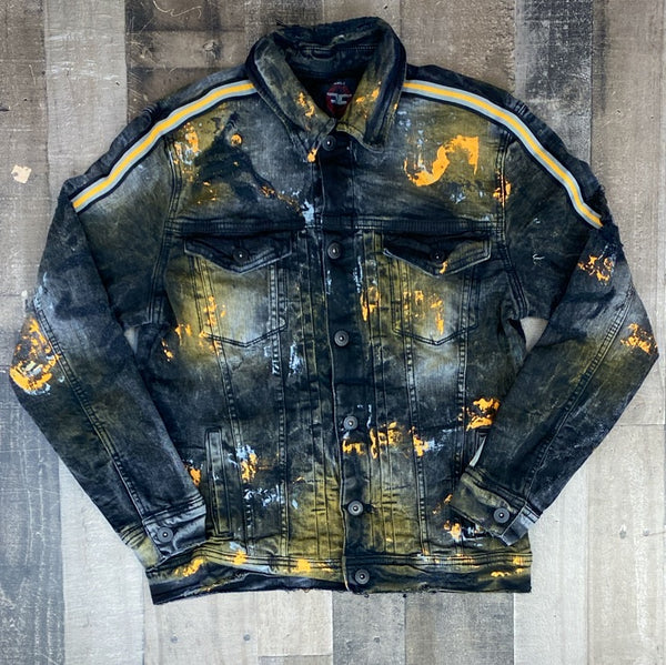 Jordan Craig- University Gold Jean Jacket
