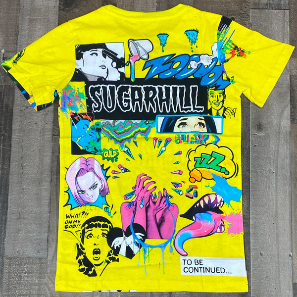 Sugarhill- psycho ss tee (yellow)
