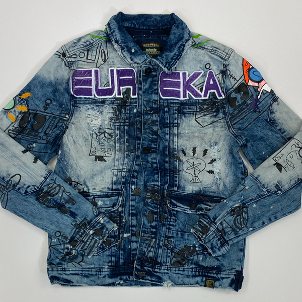 deKryptic- EUREKA augmented reality denim jacket