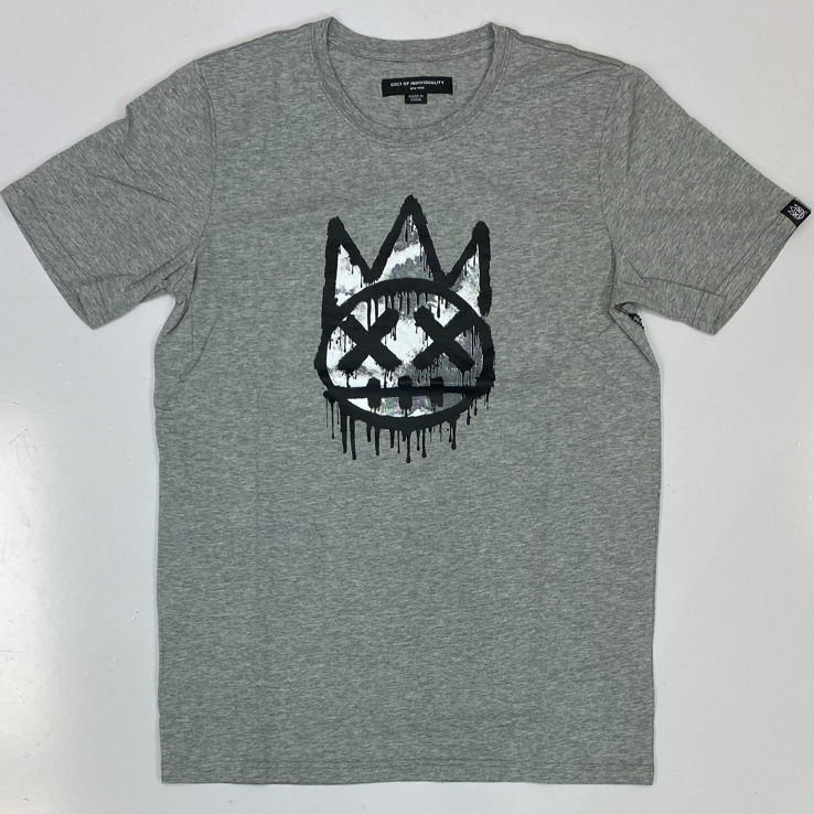 Cult Of Individuality- graffiti crewneck ss tee