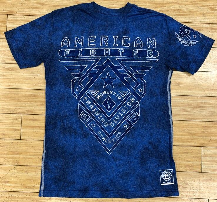American fighter- crossroads artisan ss tee