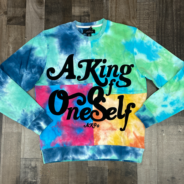 Akoo- dazed crewneck