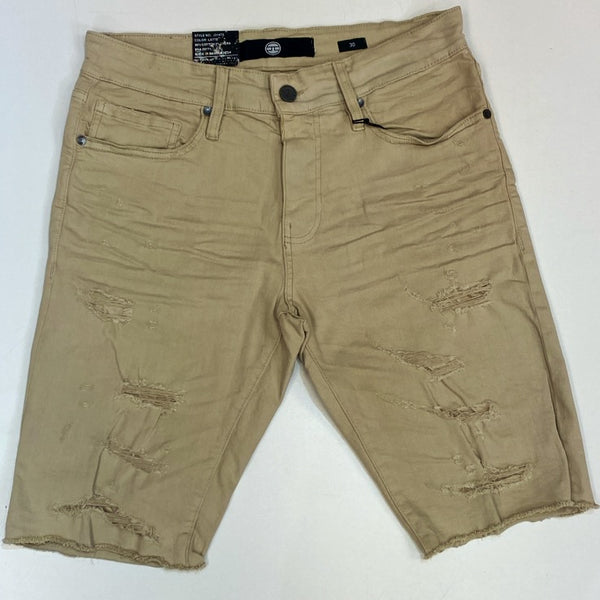 Jordan Craig- updated twill shredded shorts