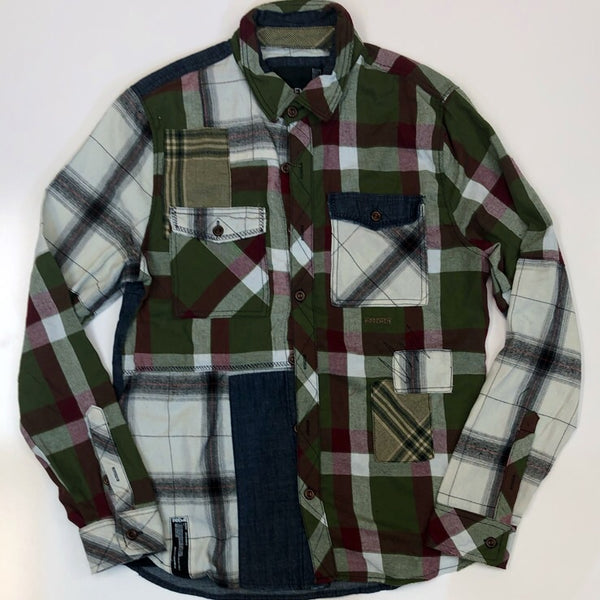 Preme- plaid button downs