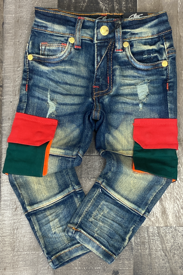 Elite- Mountain cargo jeans (kids)