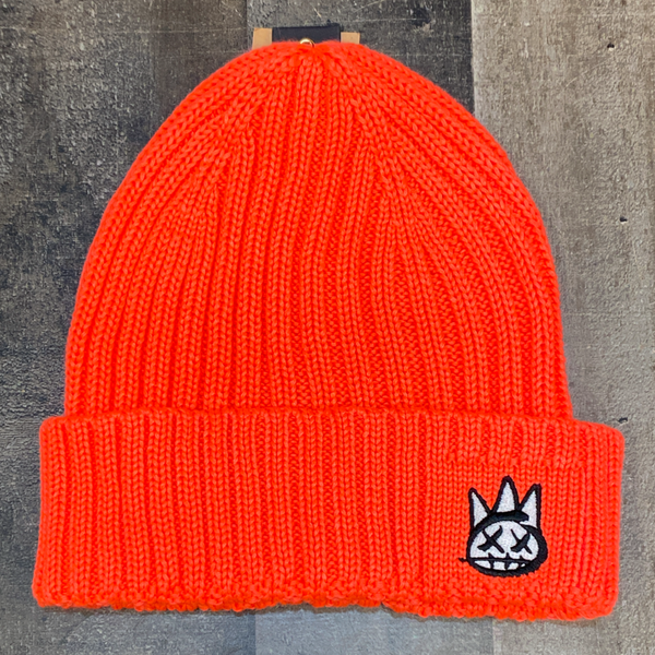 Cult Of Individuality- knit hat (coral)