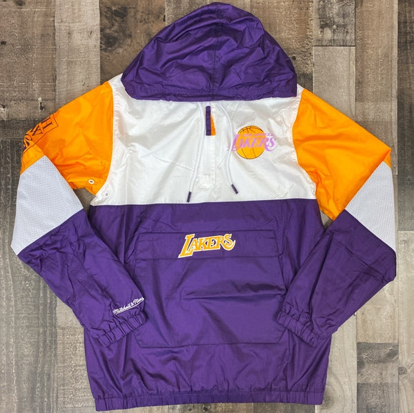 Mitchell & Ness- Lakers windbreaker