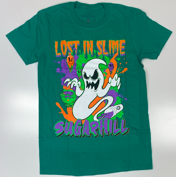 Sugarhill- slime ghost ss tee (green)