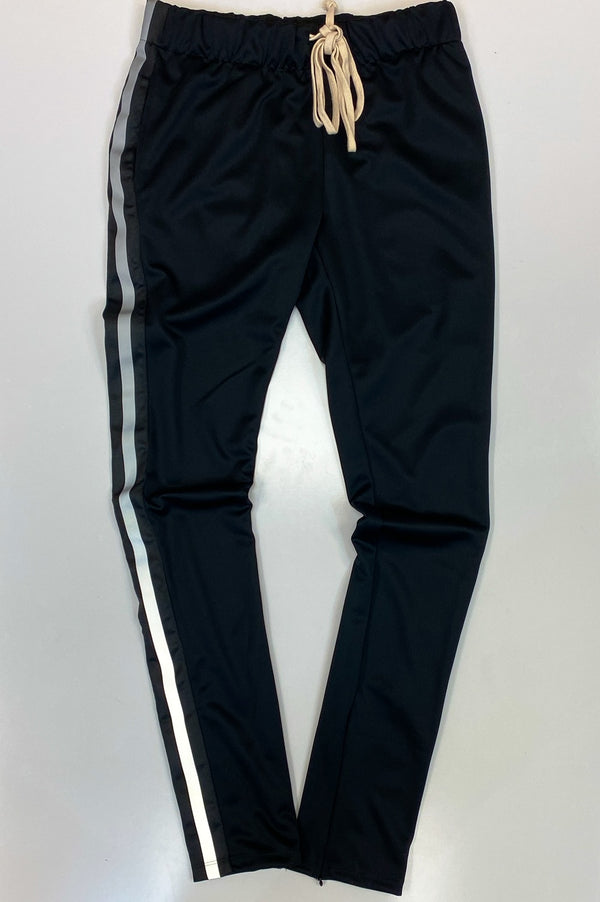 Eptm- reflective track pants(black)