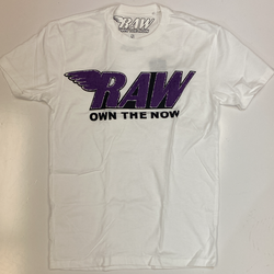 Rawyalty-raw chenille patch ss tee