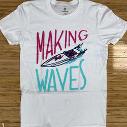 Elbowgrease- make waves ss tee